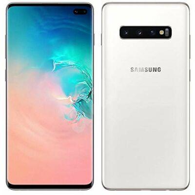 Samsung Galaxy S10+ G975 128 GB Dual Sim kerámia-fehér