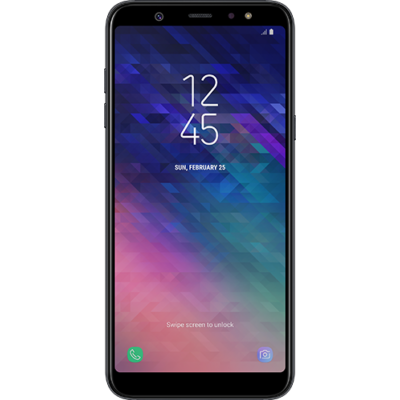 Samsung Galaxy A6+ (2018) Dual Sim fekete