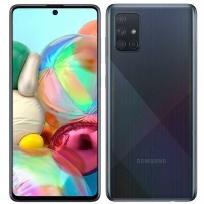 Samsung Galaxy A71 Dual Sim fekete