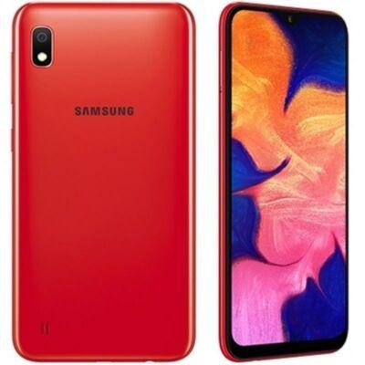 Samsung Galaxy A10 Dual Sim piros