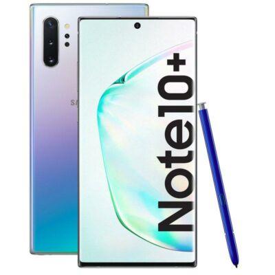 Samsung N975 Galaxy Note 10+ 512 GB Dual Sim ezüst