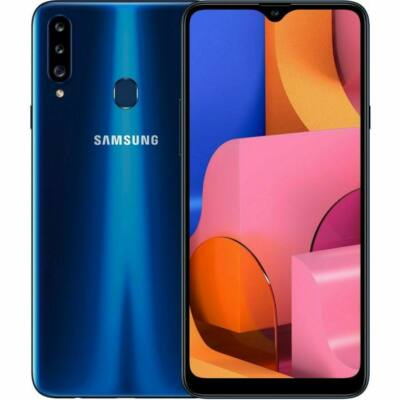 Samsung Galaxy A20s Dual Sim kék