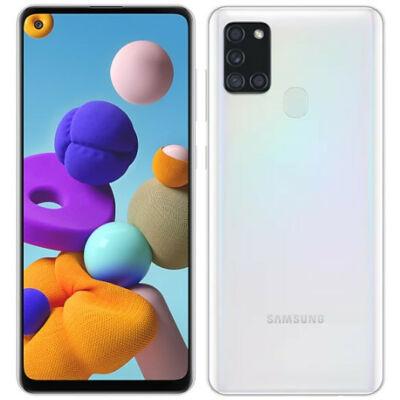 Samsung Galaxy A21s 128 GB Dual Sim fehér
