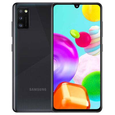 Samsung Galaxy A41 64 GB A415 Dual Sim fekete