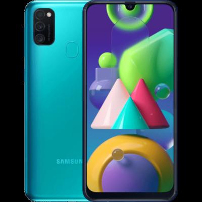 Samsung Galaxy M21 M215 64 GB Dual Sim zöld