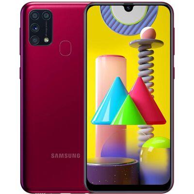 Samsung Galaxy M31 M315 128 GB Dual Sim piros
