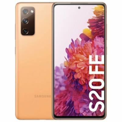 Samsung Galaxy S20 G780 FE LTE 256 GB Dual Sim narancssárga