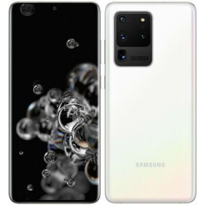 Samsung Galaxy S20 Ultra 5G 128GB Dual Sim fehér