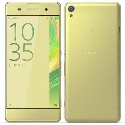 Sony Xperia XA F3111 arany-lime