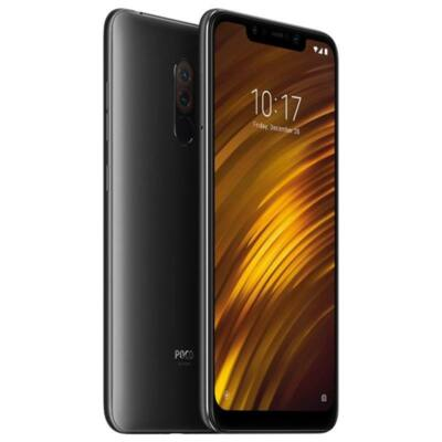 Xiaomi Pocophone F1 128 GB Dual Sim fekete