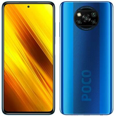 Xiaomi Poco X3 128 GB Dual Sim kék