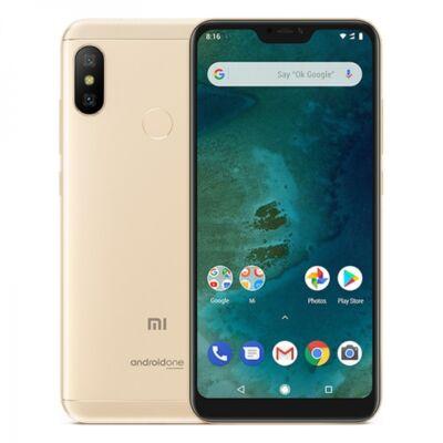 Xiaomi MI A2 Lite 3/32 Dual Sim arany