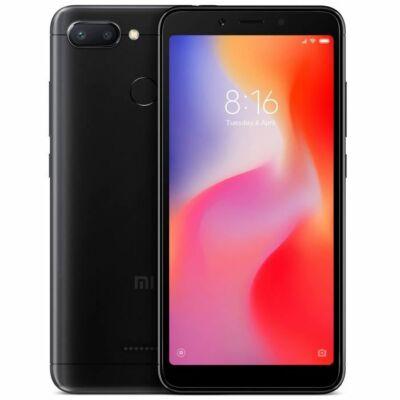 Xiaomi Redmi 6  3/32 Dual Sim fekete