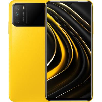 Xiaomi Poco M3 64 GB Dual Sim sárga